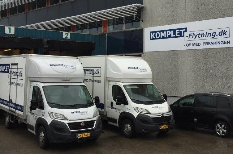 Privatflytning, erhvervsflytning, distribution, lager og logistik i Hvidovre ved København